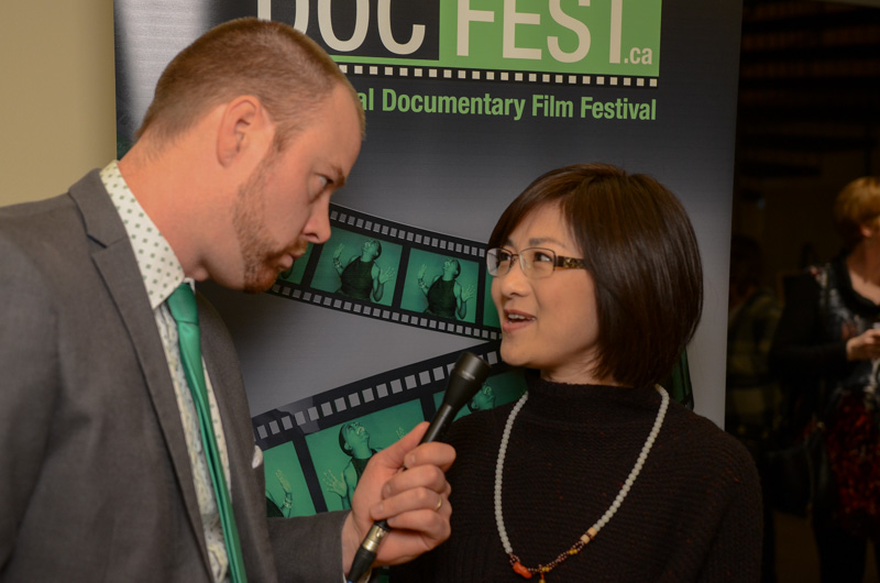 Director Doris Liu Interviewed by Cogeco TV